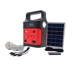 Wegner Portable Solar Generator, Solar Panels included