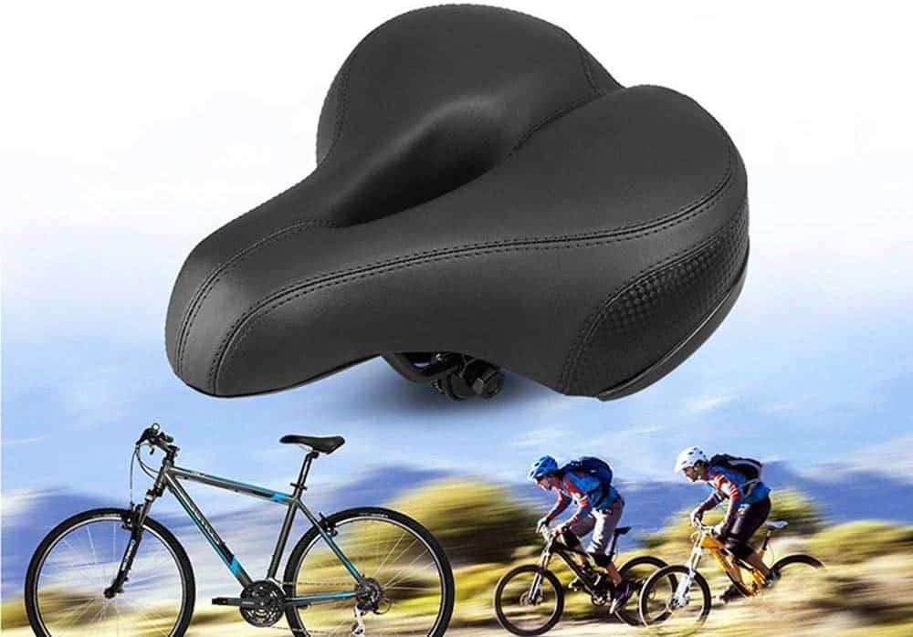 Sunlite Cloud-9 Anatomic Men/'s Saddle Reduce Perineal Pressure Bicycle Seat
