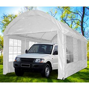 Peaktop 20'x10' Heavy Duty Outdoor Carport Car Shelter