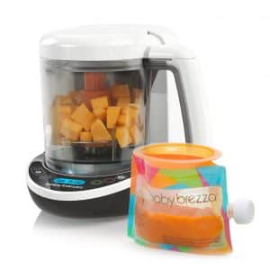Baby Brezza Small Baby Food Maker Set - Steamer and Blender