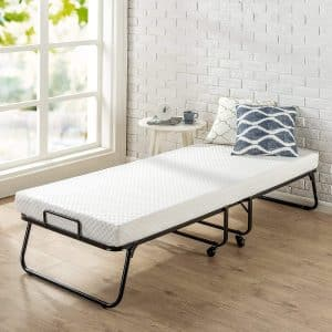 Zinus Roll Away Folding Guest Bed Frame