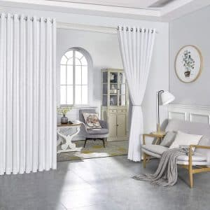 Warm Home Designs Divider Curtains