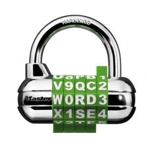 Master Lock 1534D Combination Padlock