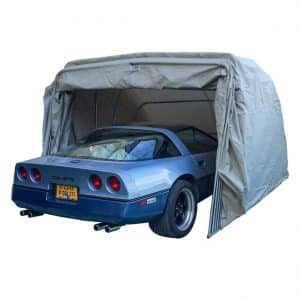 Ikuby Portable lockable Carport