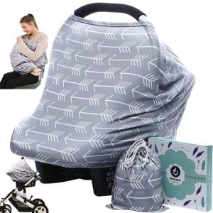 Car seat's Canopy Nursing Cover