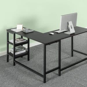 Zinus Urban L-Shaped Corner Computer Desk