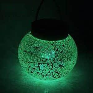 LiteFuze Glass Solar Lantern