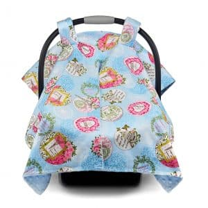 Premium Baby Carseat Nursing Cover and Canopy