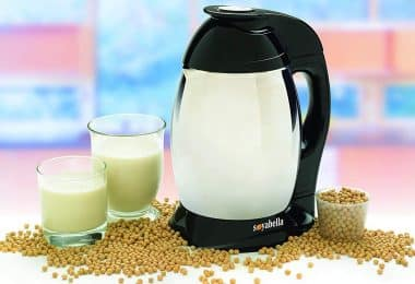 Hot soy milk makers
