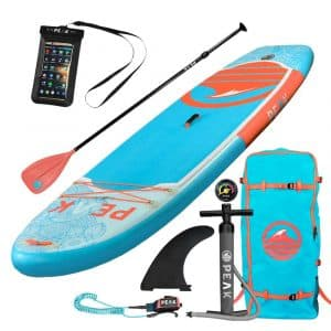 PEAK Paddle Boards Fitness Inflatable