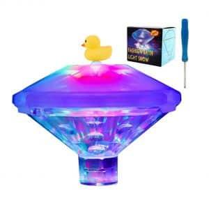 Floating Swimming Pool LED Light by Kem-Tek
