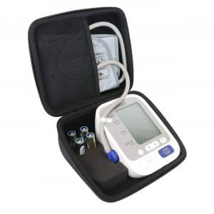 for Omron BP742N 5 Series Upper Arm Blood Pressure Monitor Carrying Case