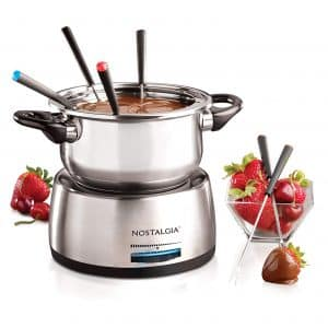 Nostalgia FPS200 Stainless Steel Electric Fondue Pot