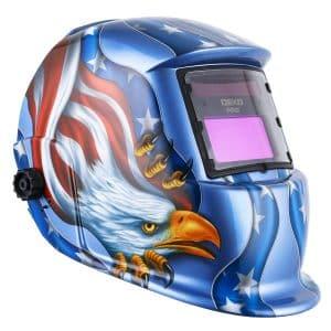 DEKOPRO Solar Powered Welding Helmet