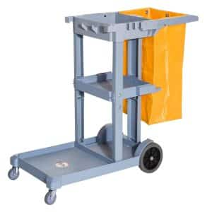 HomCom 3-Shelf Commercial Cart