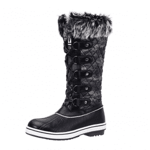 ALEADER Women's Winter Snow Waterproof Boots