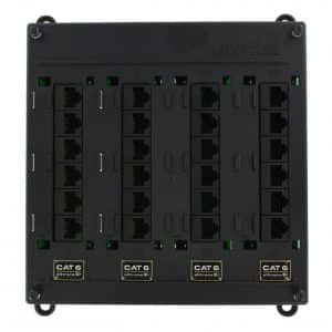 Leviton Twist and Mount Patch Panel