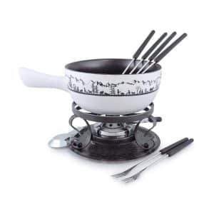 Swissmar Heidi 9 Piece Cheese Fondue Set