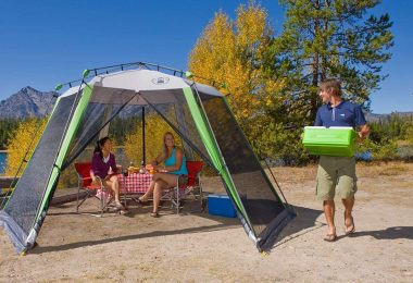 camping screen houses