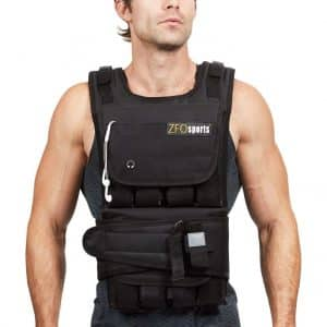 ZFOsports Weighted Vest 40lbs/60lbs/80lbs