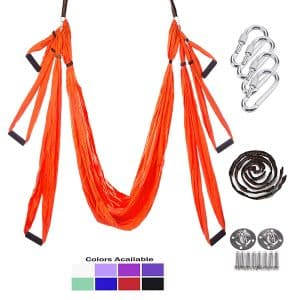 Gpeng Yoga Swing with two Extension Straps & Hardwards