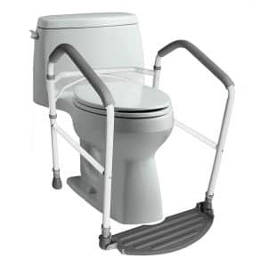 RMS Royal Medical Solutions, Inc.- Toilet Safety Frame and Rail (White)