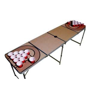 The Pong Squad Basketball Beer Pong Table