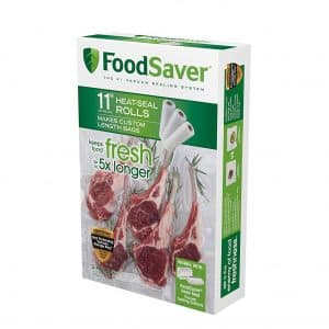 "FoodSaver 11"" x 16' 3-Pack Vacuum Seal Roll Bags"