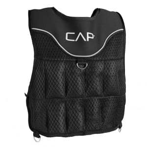 CAP Barbell HHWV-CB020C Adjustable Weighted Vest
