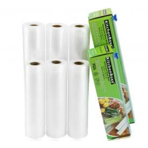 KitchenBoss Vacuum Sealer total 100 feet Bag Rolls