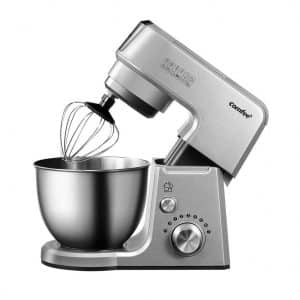 Comfee 2.6Qt Die Cast 7-in-1 Multi-Function Stand Mixer