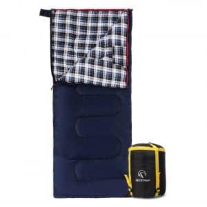 REDCAMP Cotton Flannel 3-4 Season Warm Sleeping Bags