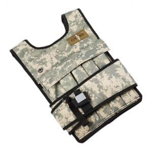 RUNmax Cross101 Adjustable Camouflage Weighted Vest