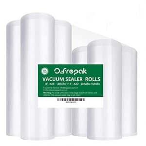 O2frepak 6Pack Vacuum Sealer Bags