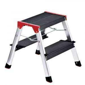 Delxo Lightweight Aluminum 2 Step Ladder