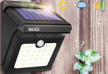 solar motion lights