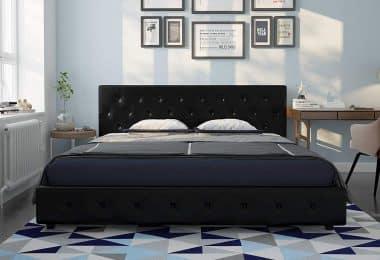 upholstered queen beds