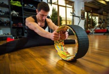 yoga prop wheels
