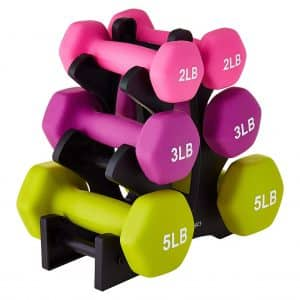20 Pounds Weight Hand Dumbbell Set
