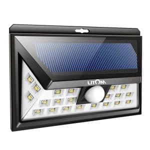 LITOM 24 LED Solar Lights Outdoor