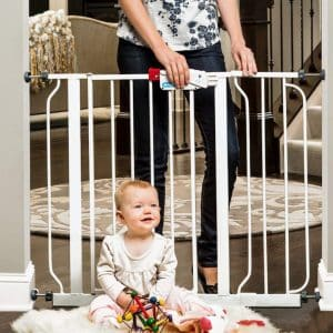 Regalo Easy Step Baby Gate with a Bonus Kit