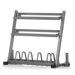 XMark Dumbbell Rack Olympic Plate Weight Rack