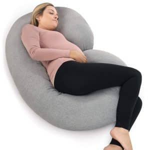 PharMeDoc Pregnancy Pillow with Jersey Cover