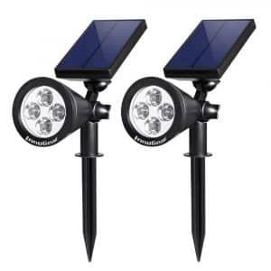 InnoGear Upgraded Solar Lights 2-in-1 Waterproof Lighting