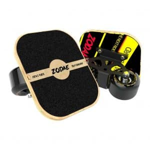 Zodae Portable Roller Road Drift with Cool Maple Deck (Solid Wheel)