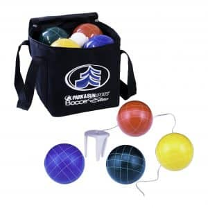 Park & Sun Bocce Ball Set w/Deluxe Carrying Bag