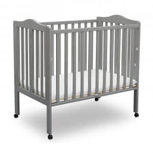 Delta Folding Portable Mini Baby Crib