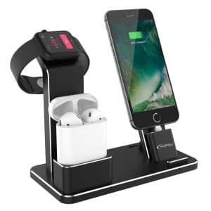 YoFeW Charging Stand Aluminum Charging Stand Dock for Apple Watch
