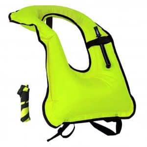 Lesberg Inflatable Snorkel Vest