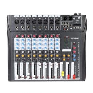 Ammoon CT80S-USB 8 Channel Compact Mixers